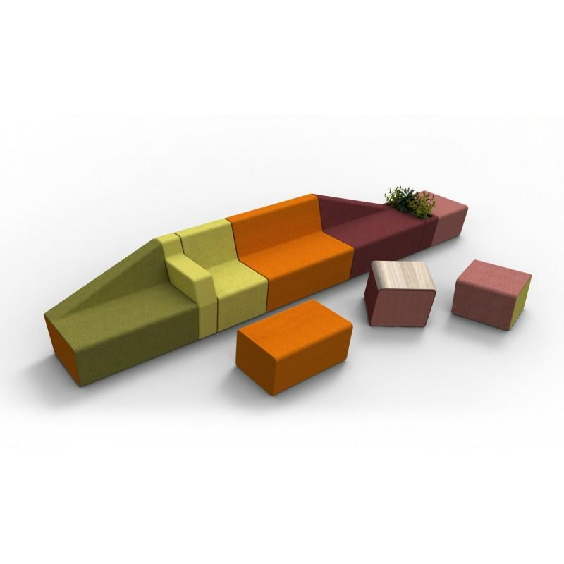 Chauffeuses modulaires mendi pour espace cowerking aix for Buro diffusion